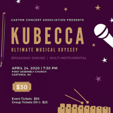 kubecca concert poster