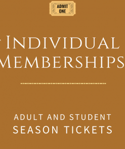 Individual Memberships and Season Tickets